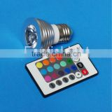 HOT SALE!!3W RGB LED Spotlight for decorative lighting
