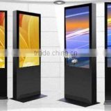 "2015 new design Super 115"" Indoor P3 full color led advertising display on floor standing"
