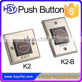 Smart Home Push Button Switch Waterproof 12v NO Touch Exit Button