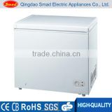 100L-3600L low temperature solid door top open deep chest freezer