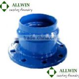 ductile iron flanged socket for pvc pipe and fittings