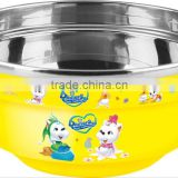 CC-SP20009 Bigger size 304# stainless steel tokyo insulated bowl for hot foods for kids(Accept OEM)