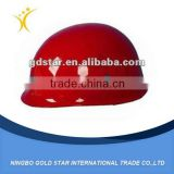 wholesale red plastic PVC safety fireman helmet