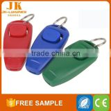eco-friendly dog playing clicker and whistle pet accessories wholesale china