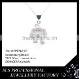 925 sterling silver pendant ,dog tag pendant for son gifts ,chinese zodiac pendant dog pet pendant