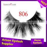 wholesale luxury horse fur strip eyelash,volume the strip lashes