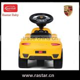 New style Porsche design car type ride on foot pushing walker baby car