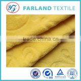 Factory direct sale , Double sided Coral fleece fabric , dye cutting fabric