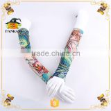 Hot Sale Non-Toxic Fabric Fake Tattoo Sleeve for Party