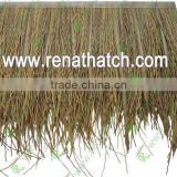 Fire retardant synthetic thatch roof, gazebo