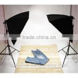 2 x Continuous Lighting Kit 50x70cm photo studio soft box lighting kit Light Bulbs Lamp 5500K 135W Photography 60*60 cm Softbo