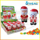 Christmas Santa Claus Sugar Bowl Toys Candy
