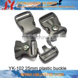 25mm plastic buckle for bag,plastic buckle for luggage,plastic compass buckle