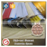 Flexible decorative tile profiles aluminium stair nosing edge trim
