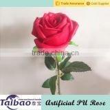 "69cm/27"" high simulation home and wedding decoration red artificial foam rose flower"