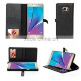 2016 new fashion hand-crafted stand wallet pu case with cosmetic mirror cover case for samsung galaxy note 7                                                                                                         Supplier's Choice