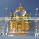 crystal Miniature Taj Mahal Replica