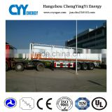Gas Cylinder 8 pipes Container tube CNG semi trailer gas station use CNG tank semi trailer