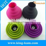 manufactuer wholesale silicone hair dryer diffuser silicone flash diffuser