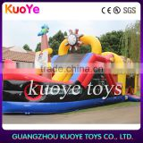 pirate ship obstacle jumping inflatable game, inflatable obstacle toys factory,giant inflatable bouncy slide obstacle course