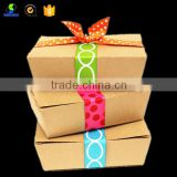 Chinese disposable paper lunch box food take away boxes
