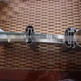 Hot sales Aluminium extrusion profile Aluminum extrusion profile of partition with in factory using