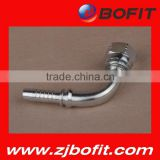 Zhejiang factory npt jic sae bsp metric hydraulic hose fittings OEM available