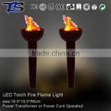 Hotsale decoration fake fire flame light and ues indoor & good quality