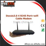 4 port CMTS Docsis 3.0/2.0 Ethernet over Coax cable Modem