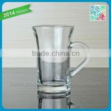 wholesale glass espresso coffee mug cups drinking glass cup mugs clear glass coffee mugs