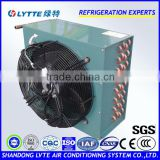 Refrigeration Condenser with Fan Motor