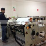 CE Approved Thermoplastic Meterials Extruding Laminating Machine for back glued velvet ribbon