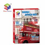 Double Decker Bus from UK for kids as 3d jigsaw puzzle baby toy