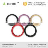 TOPKO Crossfit Gym Rings ABS Gym Rings With Strap And Flexible Buckles Gym ring