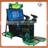 "42""47""Coin Operated Arcade Video Shooting Aliens Extermination Game Machine Sale"