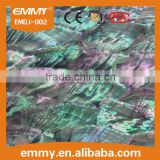 high quality natural abalone/paua mother of pearl shell paper shell sheet shell laminate