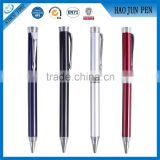 2016 Promotional Heavy Red/White/Black/Bule Metal Roller Pens For Gift ,Metal Twist Ballpoint Pen