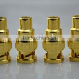 Audiocrast BNC(Male) to RCA (Female) Gold plated Plug