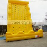8*8*8m inflatable rock climbing wall
