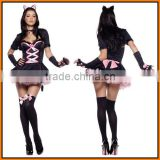Halloween costume and European game witch outfit cat girl role play cat women's uniform party DS performance service