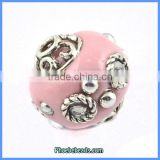 Wholesale Fashion Pink Indonesia Polymer Clay Jewelry Beads PCB-M100648