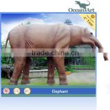 Amusement Park Outdoor Elephant Statue