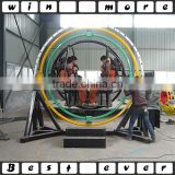 2/4/6 seats human gyroscope 3D space ring thrill rides for sale                                                                         Quality Choice