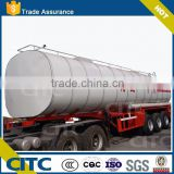 Fuel type liquid ammonia tanker trailer new design liquid tank low price liquid chemical tank truck semi trailer