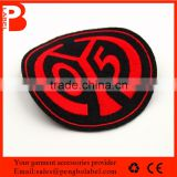Factory cheap price good quality eco-friendly iron on embroidery patch, custom embroideried patch