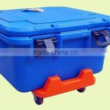 Factory price insulated cooler ice box /popular designing super cooler ice box