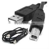 Hi-Speed USB 2.0 Printer Scanner Cable Type A Male to Type B Male For HP, Canon, Lexmark, Epson, Dell