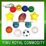 Promotional Soft Reliever PU Foam Custom Anti Stress Ball                                                                         Quality Choice
