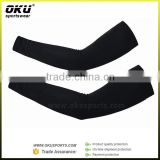 Black compression arm sleeve