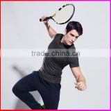 HOT Selling sports body wear , men slimming body shaper,Fashionable sport T-shirt